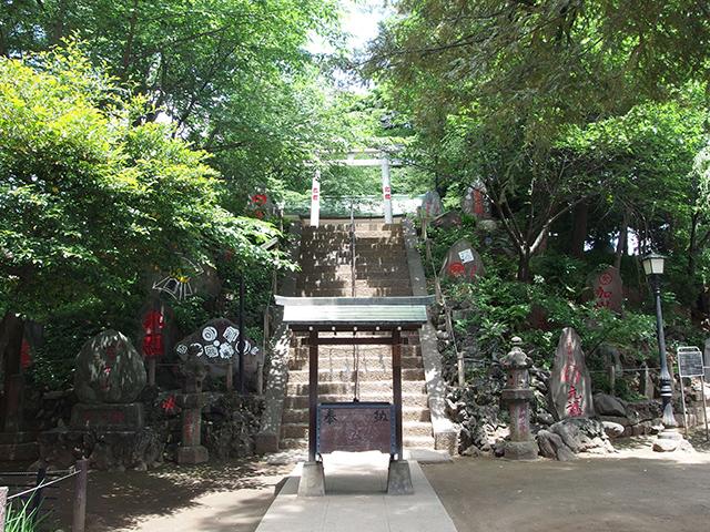 駒込富士神社写真
