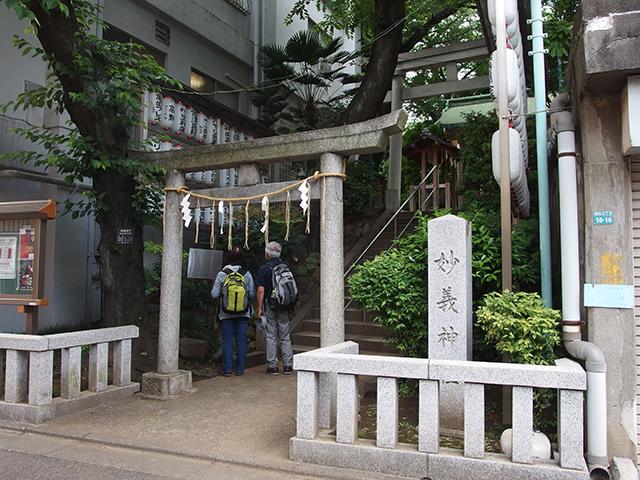 駒込妙義神社写真