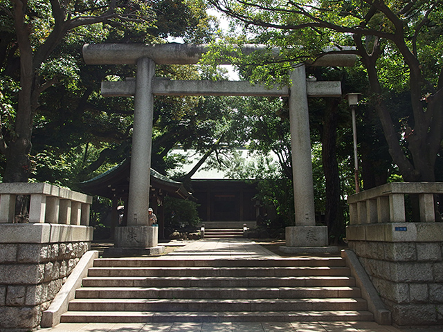 大井鹿嶋神社写真