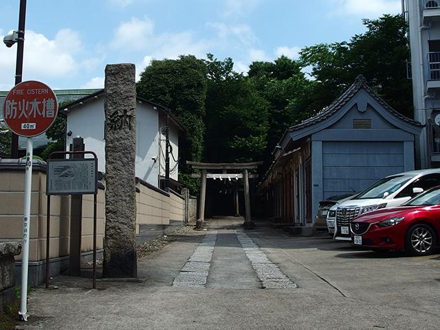 田端八幡神社写真