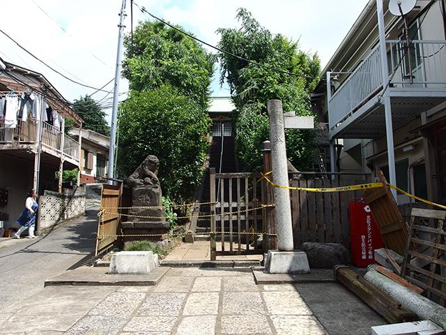 田端日枝神社写真