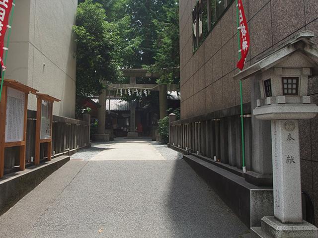 日枝神社日本橋摂社写真