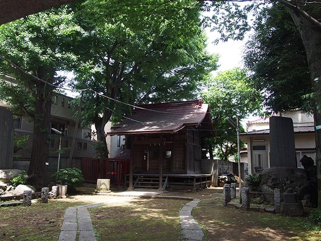 東關森稲荷神社(品川区大井)写真