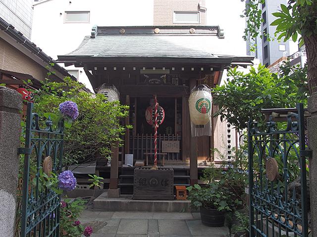 三光稲荷神社(人形町)写真