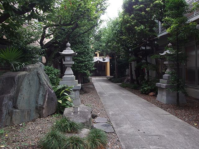 天祖神社(新宿区早稲田鶴巻町)写真
