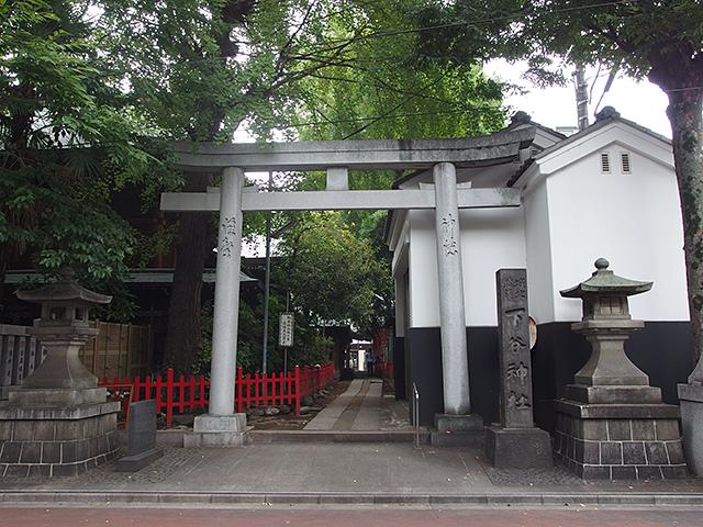 下谷神社写真