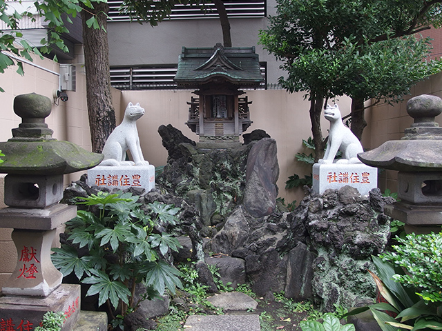 三峰神社(台東区)写真