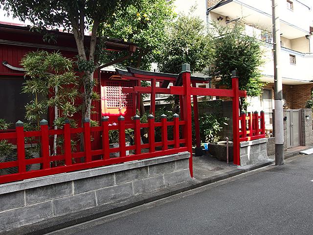冬木森稲荷神社写真