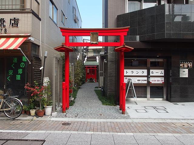 宝徳稲荷神社(品川区豊町)写真
