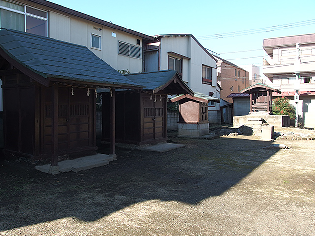 横浜熊野神社写真