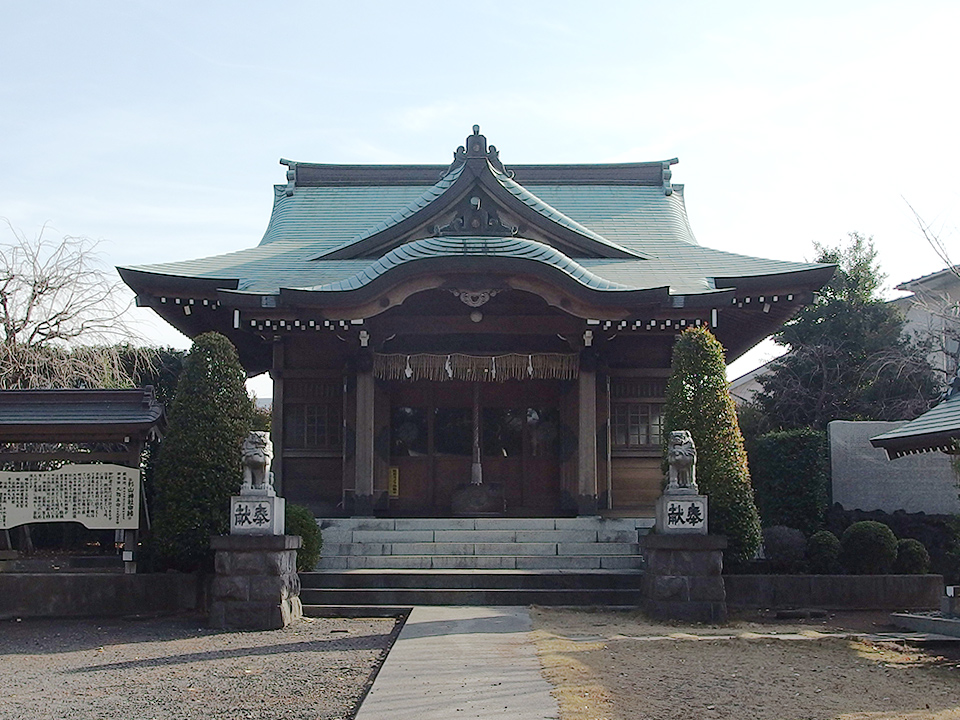 杉山神社(横浜市神奈川区片倉町)