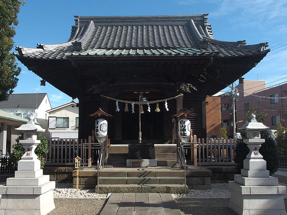 嶺白山神社