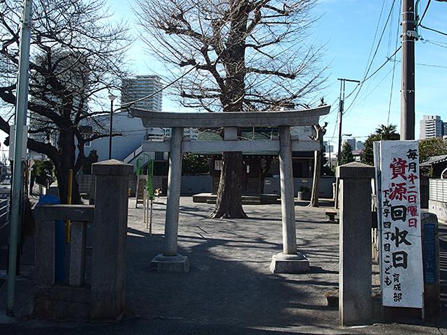 下丸子諏訪神社写真