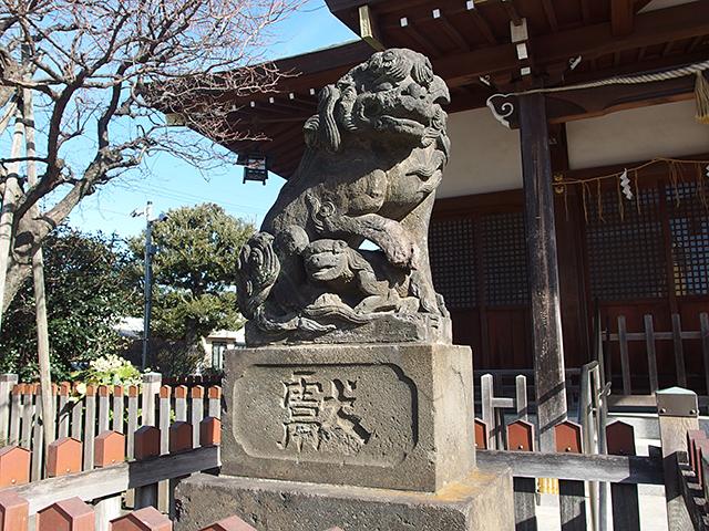 鵜ノ木八幡神社写真