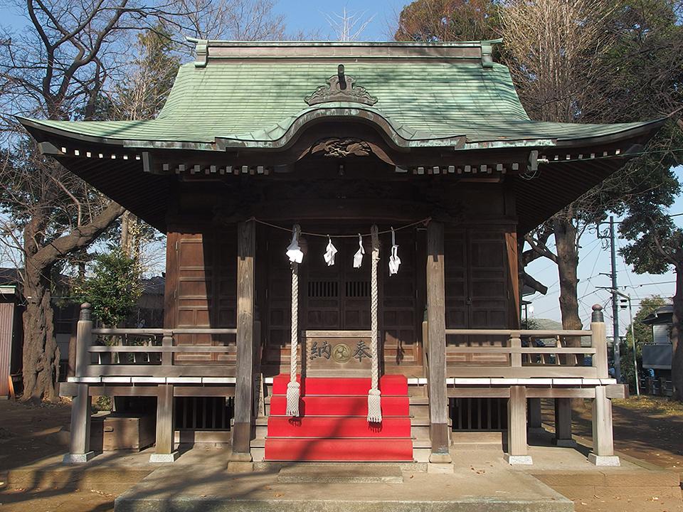 白幡八幡神社(横浜市神奈川区白幡仲町)