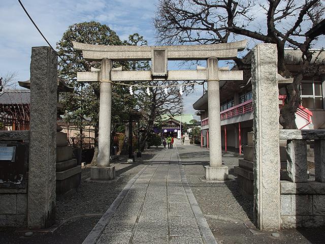 熊野神社(大田区西蒲田)写真
