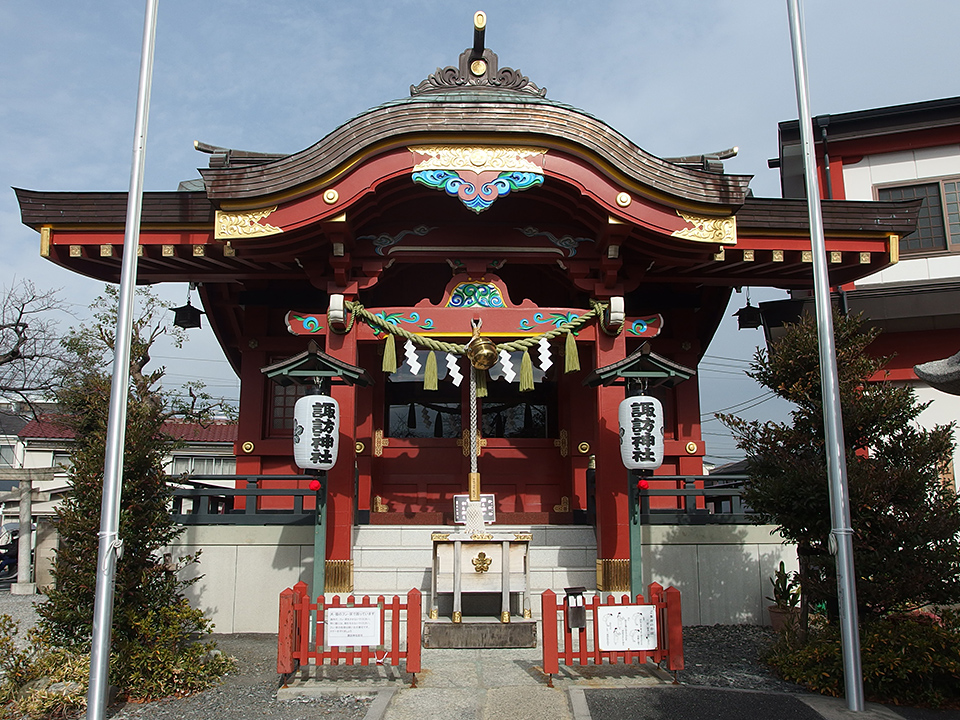 多摩川諏訪神社