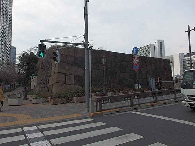 旧牛込御門跡(牛込見附跡)写真