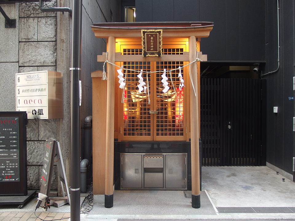 幸稲荷神社(中央区)