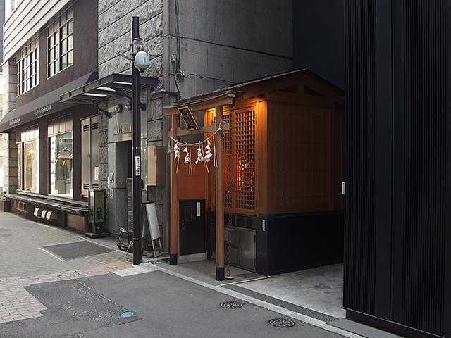 幸稲荷神社(中央区)写真