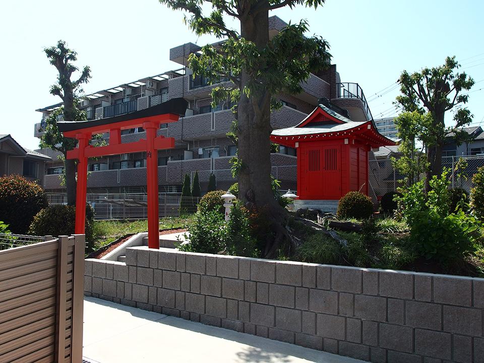公所神社(大和市下鶴間)