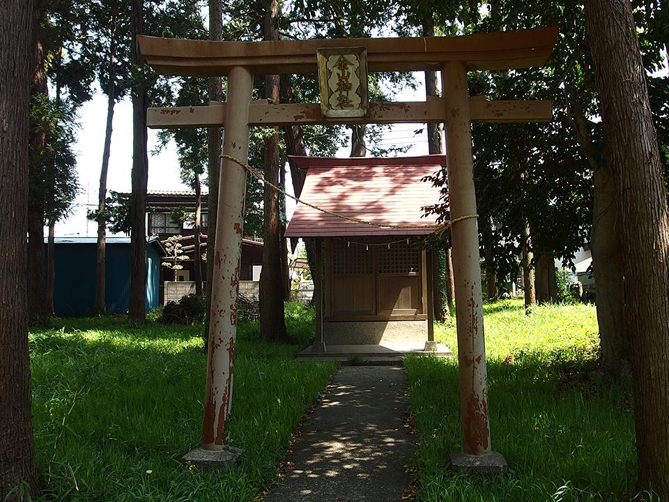 西田金山神社