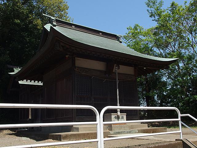 西田杉山神社写真