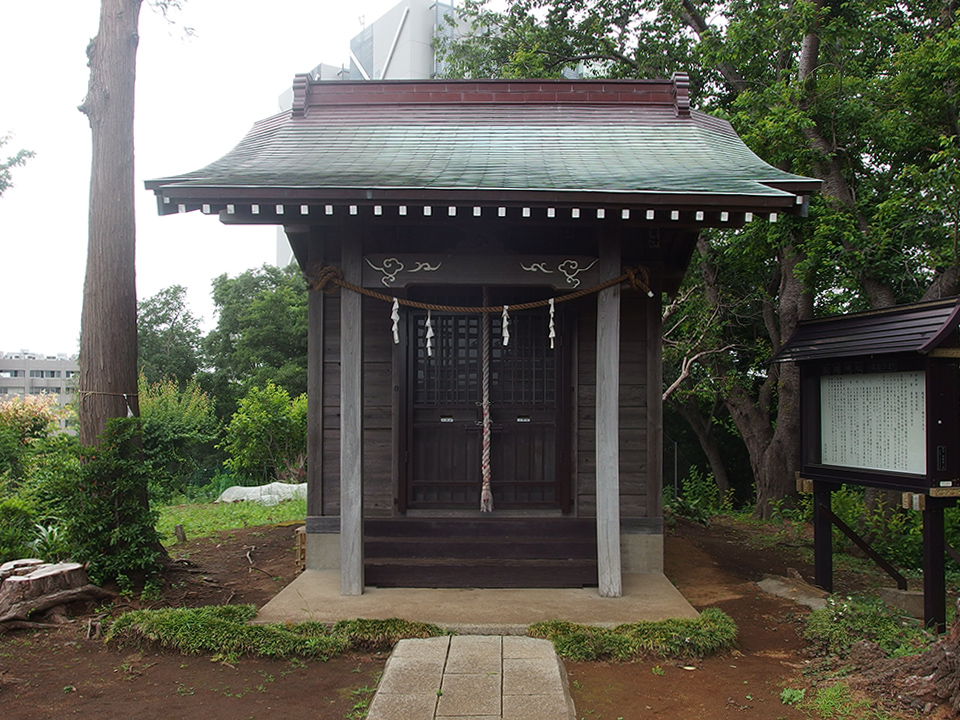 飯縄神社(横浜市緑区長津田町)