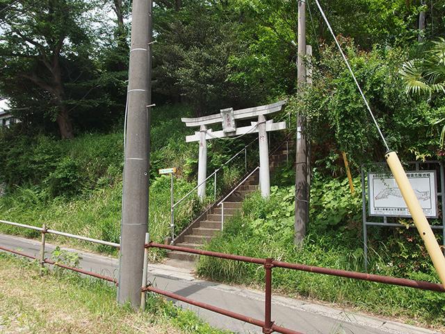 天王社(横浜市緑区長津田町)写真