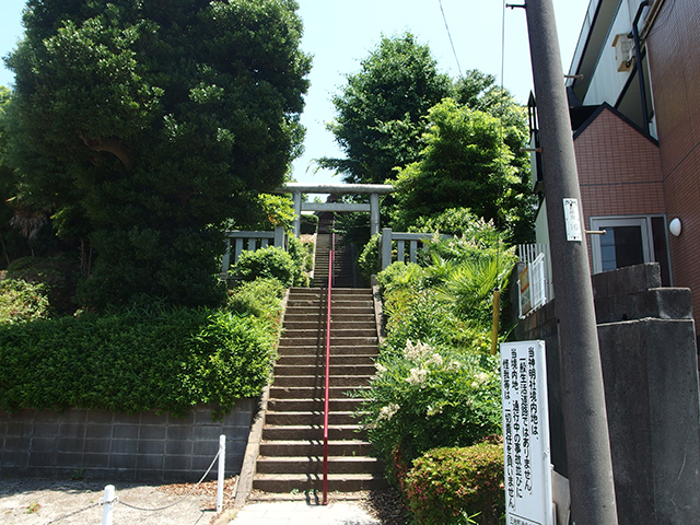 三枚町神明社写真