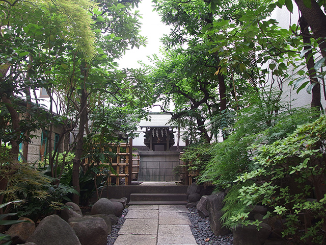 大栄稲荷神社(中央区)写真