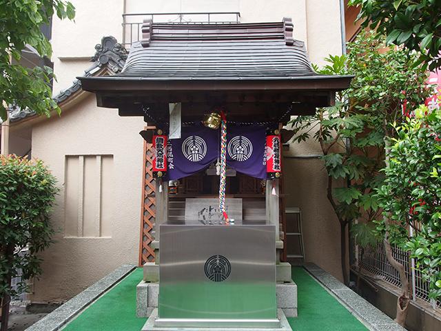 元徳稲荷神社・綱敷天満神社写真