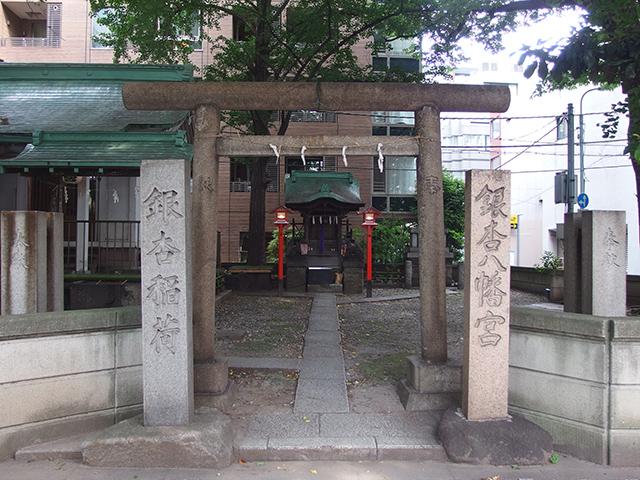 銀杏八幡宮写真