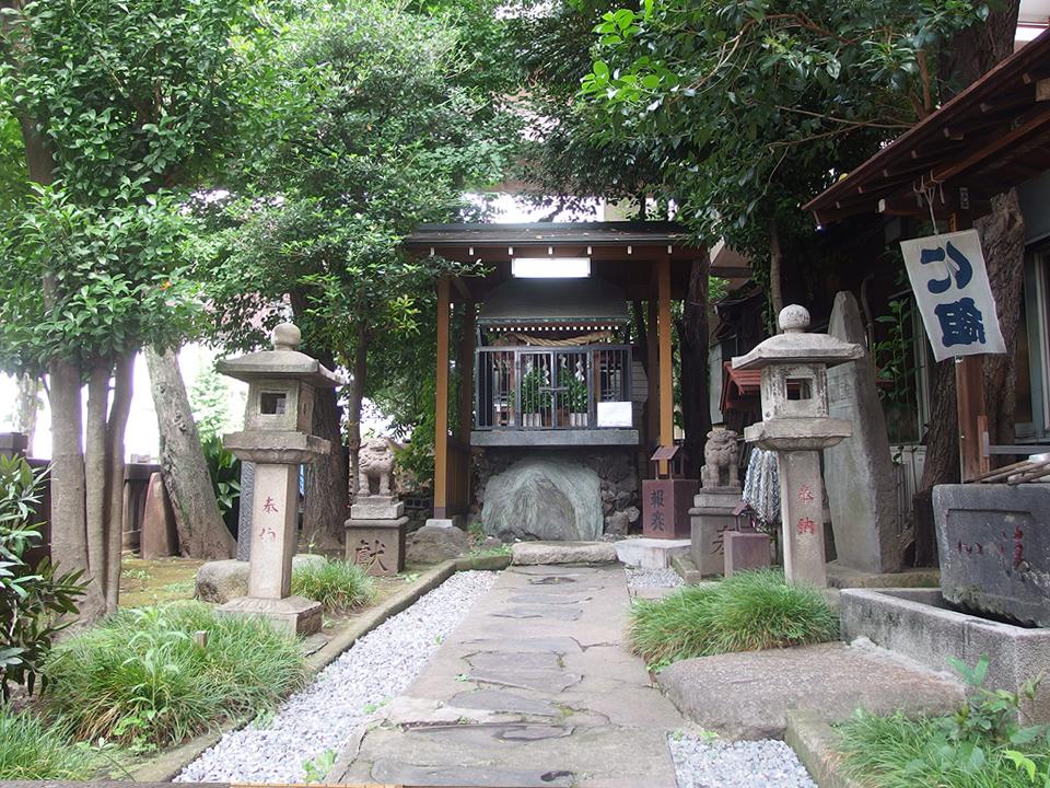 金刀比羅宮(中央区日本橋中洲)