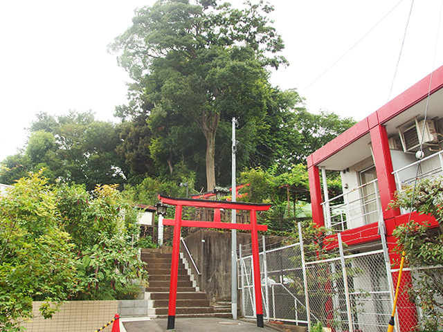 東山藤稲荷神社写真