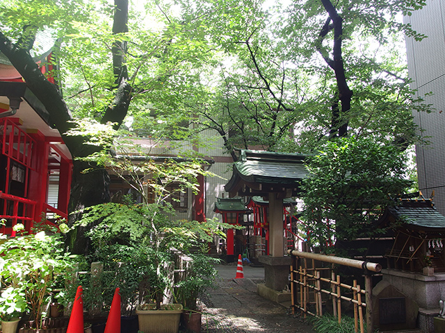 三田春日神社写真