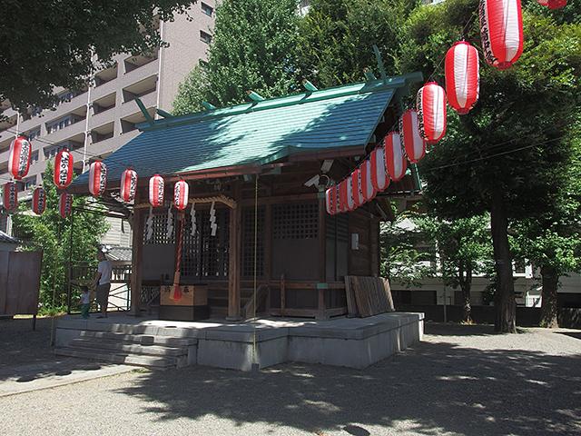 西早稲田天祖神社写真