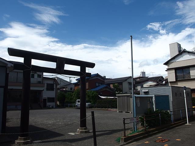 女體神社(川崎市幸区紺屋町)写真