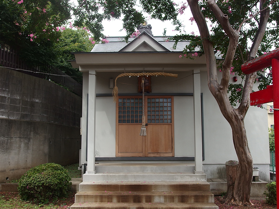 白山神社(川崎市宮前区馬絹)