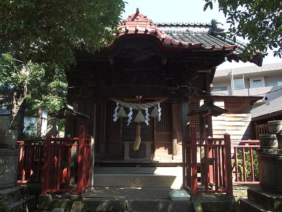 諏訪神社(川崎市高津区諏訪)