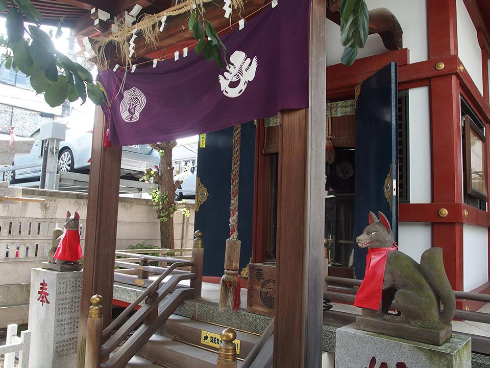 三河稲荷神社(港区南青山)