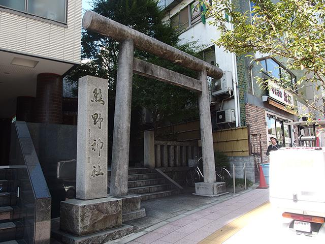 飯倉熊野神社写真