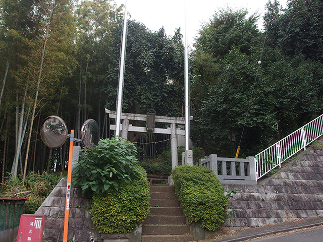 勝田杉山神社写真
