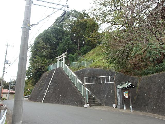 北新羽杉山神社写真