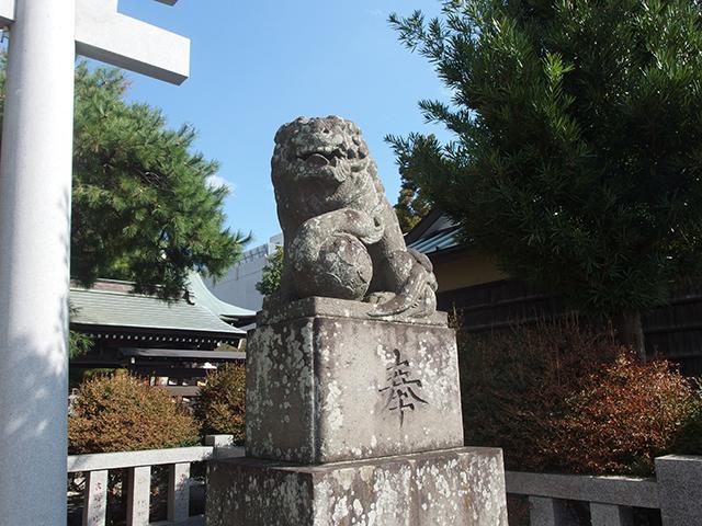 大棚中川杉山神社写真