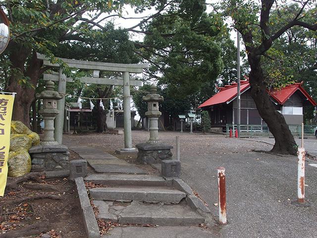 大熊杉山神社写真