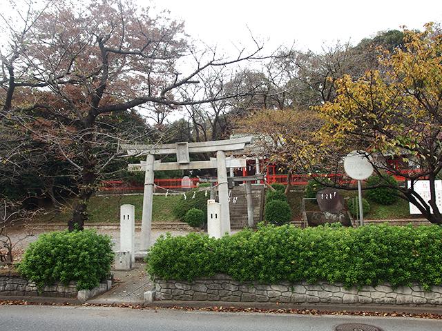 淡島社(横浜市都筑区折本町)写真