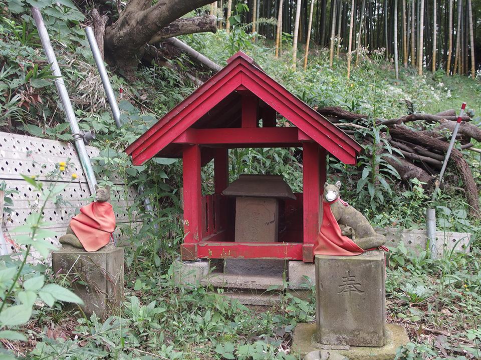 稲荷社(横浜市港北区新吉田町)