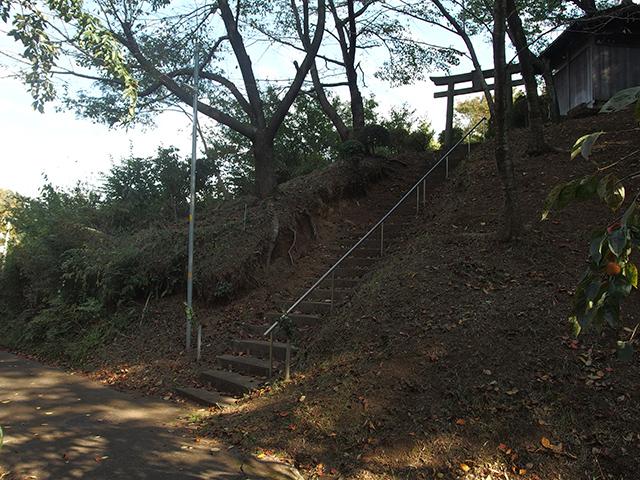 熊野神社(横浜市青葉区荏田町)写真