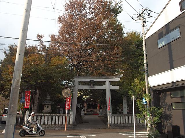 戸部杉山神社写真
